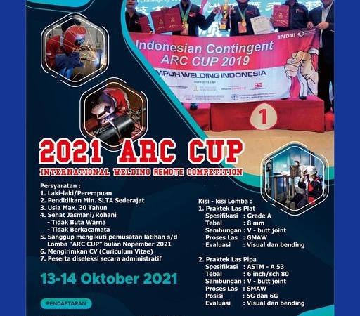 Kompetisi ARC CUP Internasional kembali dibuka